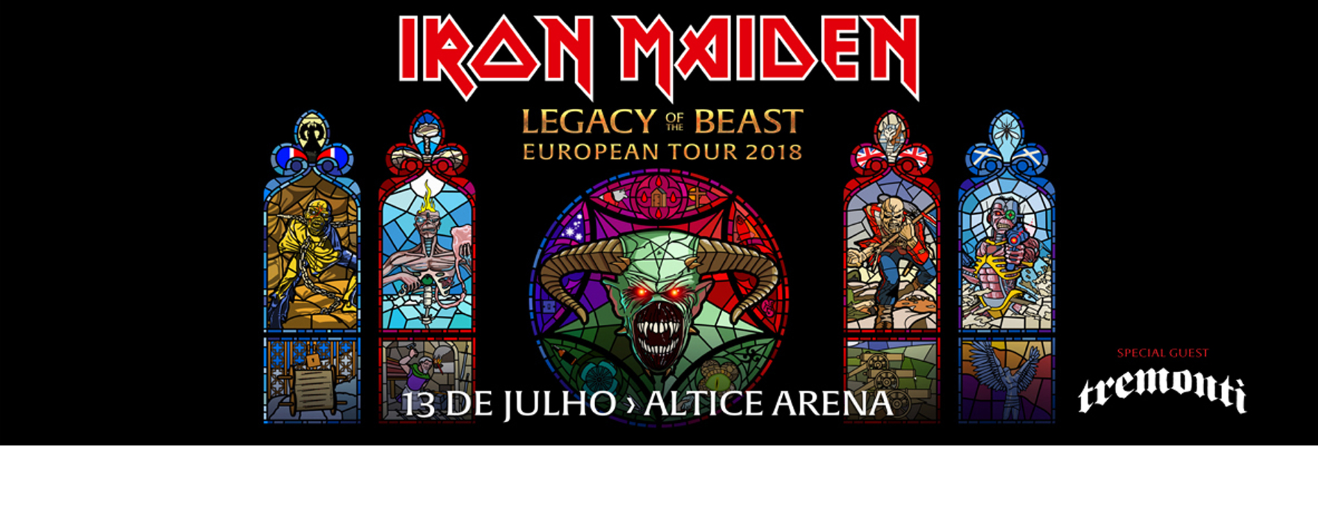 IRON MAIDEN Lisboa
